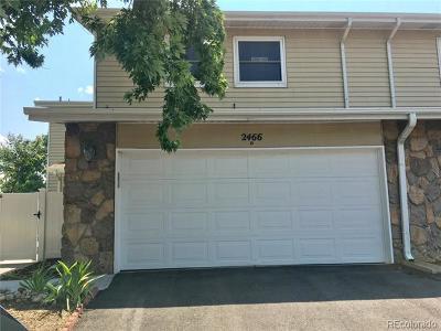 Arapahoe County Condo/Townhouse Active: 2466 South Vaughn Way #D