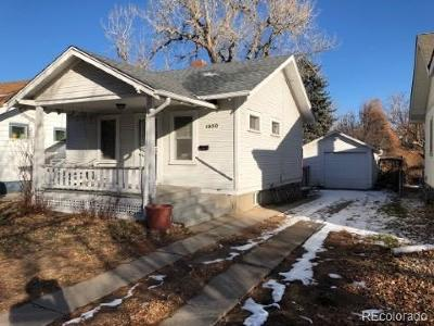 Single Family Home Active: 1850 South Franklin Street