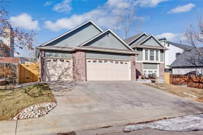 Littleton Single Family Home Under Contract: 12127 West Crestline Drive