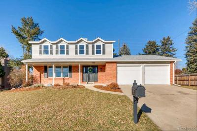 Arvada CO Single Family Home Active: $449,900