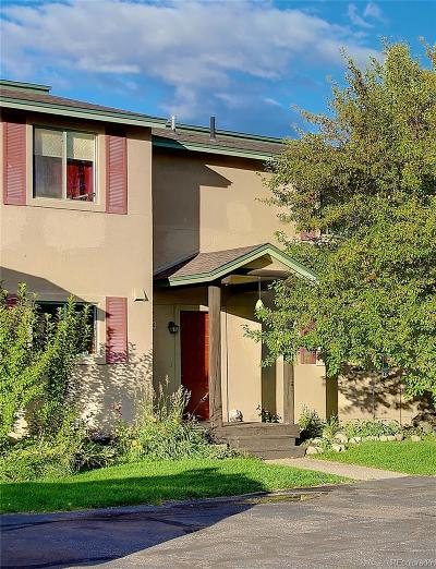 Steamboat Springs Condo/Townhouse Active: 3170 Ingles Lane #A-4