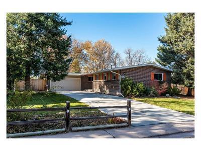Centennial Single Family Home Under Contract: 6289 South Adams Drive