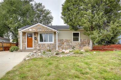 Denver Single Family Home Active: 49 South Osceola Street