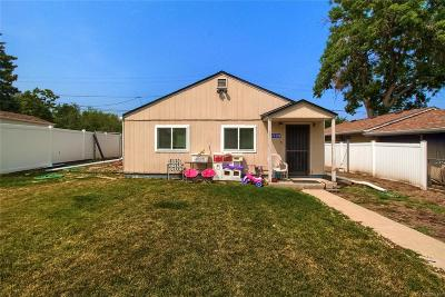 Wheat Ridge Single Family Home Under Contract: 3329 Chase Street