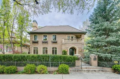 Denver CO Single Family Home Active: $5,000,000