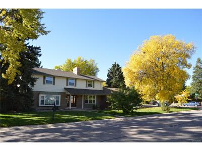 Littleton Single Family Home Under Contract: 5584 West Rowland Place