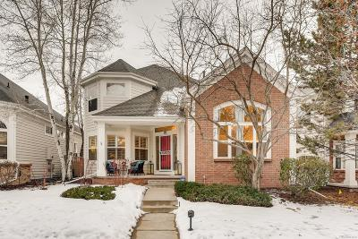 Denver Single Family Home Under Contract: 1011 South Valentia Street #111