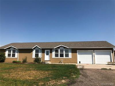 Keenesburg Single Family Home Active: 28935 County Road 18