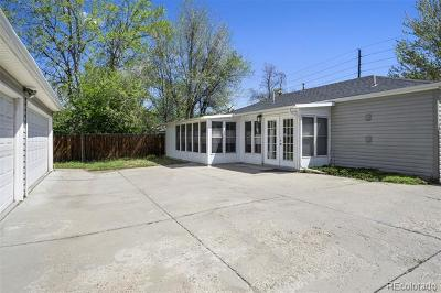 Denver Single Family Home Active: 1391 South Holly Street