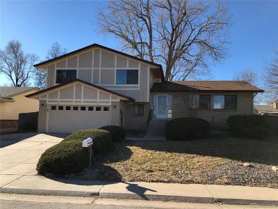 Aurora CO Single Family Home Active: $374,900