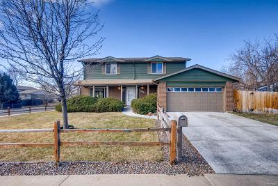 Arvada Single Family Home Under Contract: 11267 West 59th Avenue