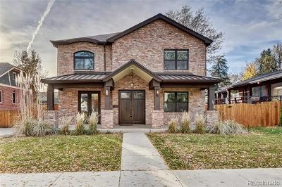 Denver Single Family Home Under Contract: 2343 South Columbine Street