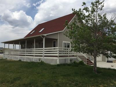 Franktown Single Family Home Active: 6230 East State Highway 86