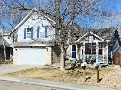 Broomfield Single Family Home Under Contract: 2735 Fernwood Place