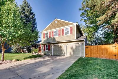 Littleton Single Family Home Active: 6782 South Dahlia Court