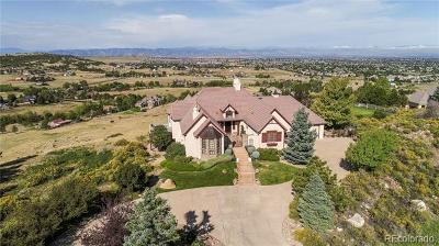 Littleton Single Family Home Active: 10757 Highland View Court