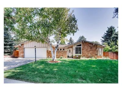 Centennial Single Family Home Under Contract: 6530 South Heritage Place West
