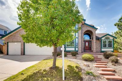 Highlands Ranch Single Family Home Under Contract: 9767 Ashleigh Lane