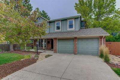 Castle Pines Single Family Home Active: 101 Croft Court