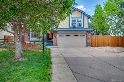 Colorado Springs Single Family Home Active: 3815 Vicksburg Terrace
