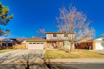 Thornton Single Family Home Under Contract: 12912 Cherry Way
