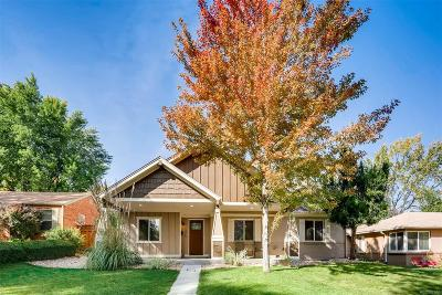 Denver Single Family Home Active: 1275 Quince Street