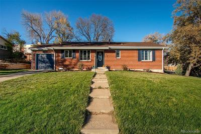 Littleton Single Family Home Under Contract: 3601 West Wagon Trail Drive