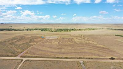 Kiowa CO Residential Lots & Land Active: $170,000