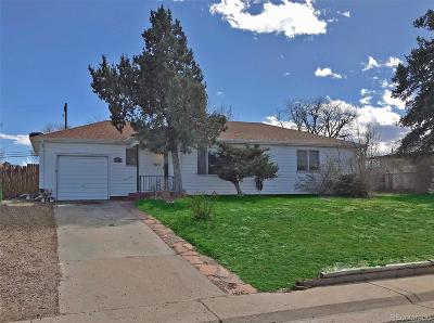 Commerce City Single Family Home Under Contract: 5206 East 60th Way