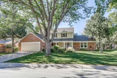 Greenwood Village Single Family Home Under Contract: 9900 East Grand Avenue