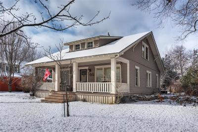 Boulder Single Family Home Under Contract: 3375 16th Street