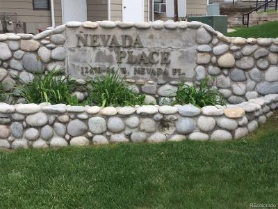 Jefferson County Condo/Townhouse Active: 12470 West Nevada Place #214