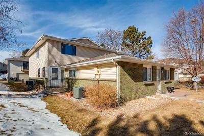 Denver Condo/Townhouse Under Contract: 9105 East Lehigh Avenue #103