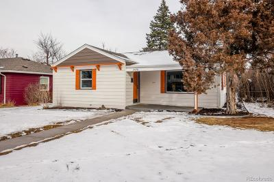 Wheat Ridge Single Family Home Under Contract: 3470 Benton Street