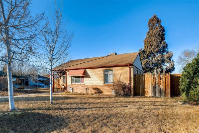 Denver Single Family Home Active: 2291 West Custer Place