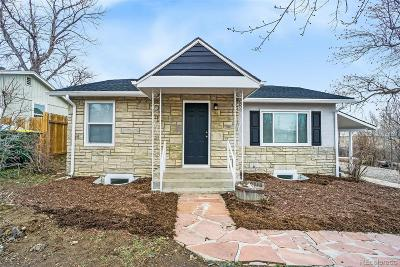 Lakewood CO Single Family Home Active: $499,900