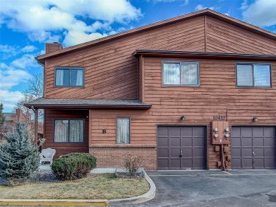 Condo/Townhouse Under Contract: 10410 West Jewell Avenue #B
