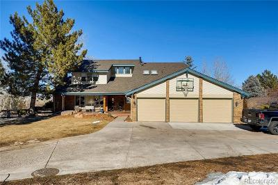 Littleton Single Family Home Active: 7572 South Mount Zirkel
