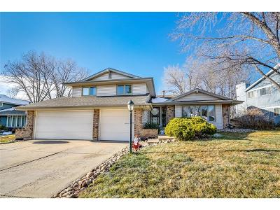 Westminster Single Family Home Under Contract: 9831 Xavier Court