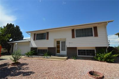 Aurora Single Family Home Active: 14875 East Security Way
