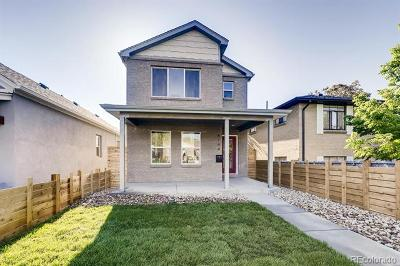 Denver Single Family Home Active: 4744 Vallejo Street