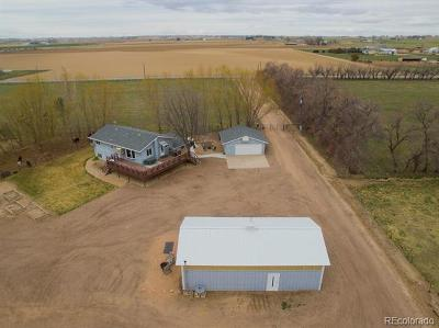Greeley Single Family Home Active: 24796 Highway 392