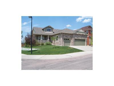 Castle Rock Single Family Home Active: 3635 Sunridge Terrace Drive