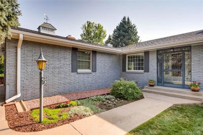Denver Single Family Home Active: 1980 South Olive Street