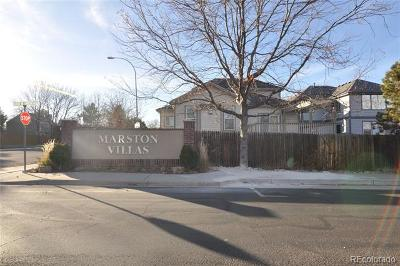 Littleton Condo/Townhouse Active: 8481 West Union Avenue #4-201