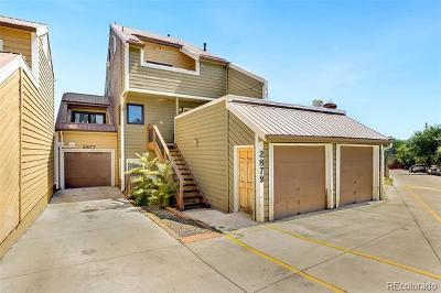 Boulder Condo/Townhouse Active: 2877 Springdale Lane