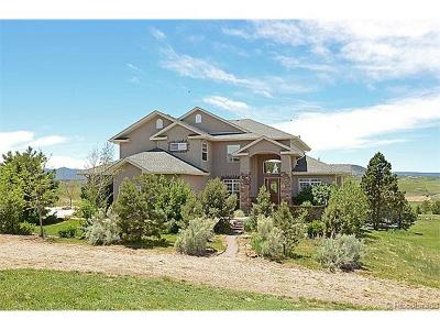 Castle Rock Single Family Home Active: 3532 Bell Mountain Drive