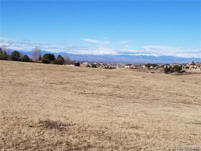 Arapahoe County Residential Lots & Land Active: East Kettle Avenue