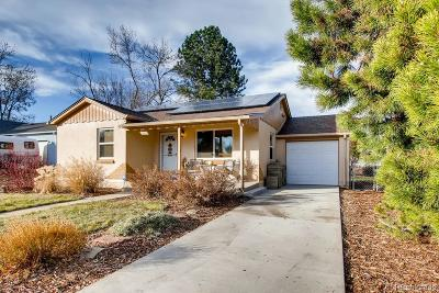 Wheat Ridge Single Family Home Under Contract: 7065 West 27th Avenue