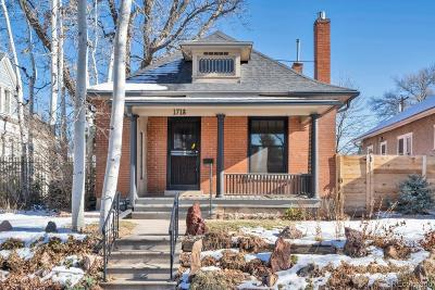 Single Family Home Under Contract: 1718 South Emerson Street